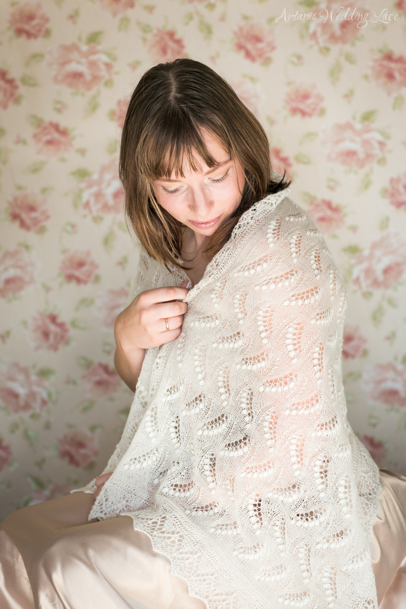 Wedding Shawl - Lily of the Valley1.2 - Artanis Wedding Lace