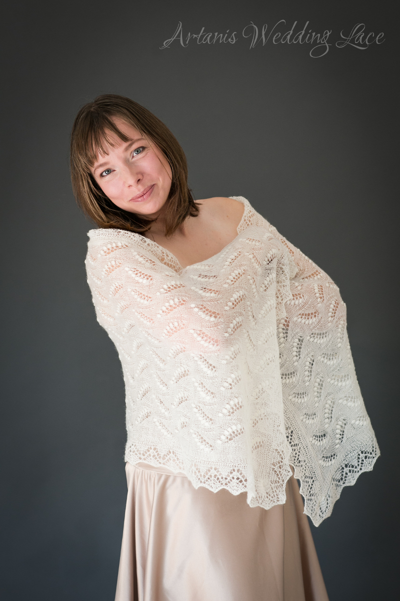 Wedding Shawl - Lily of the Valley1.3 - Artanis Wedding Lace