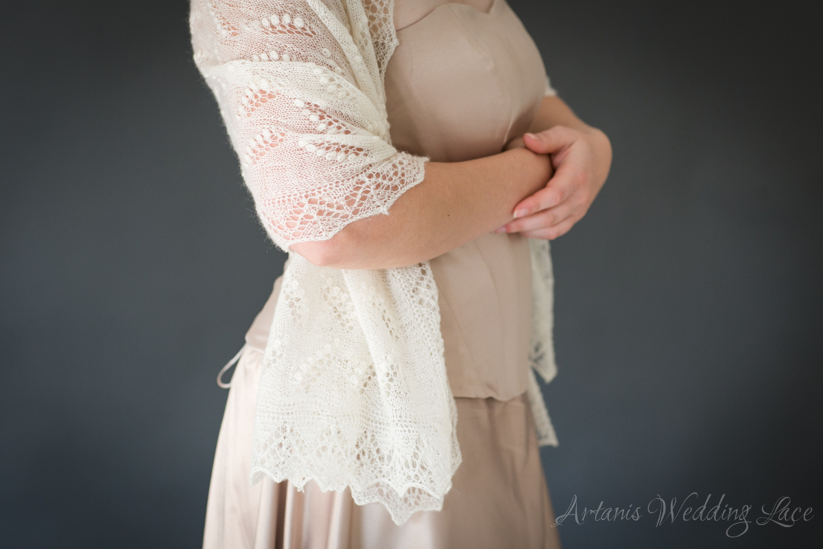 Wedding Shawl - Lily of the Valley1.4 - Artanis Wedding Lace