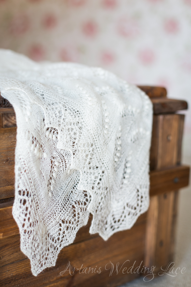 Wedding Shawl - Lily of the Valley1.6 - Artanis Wedding Lace