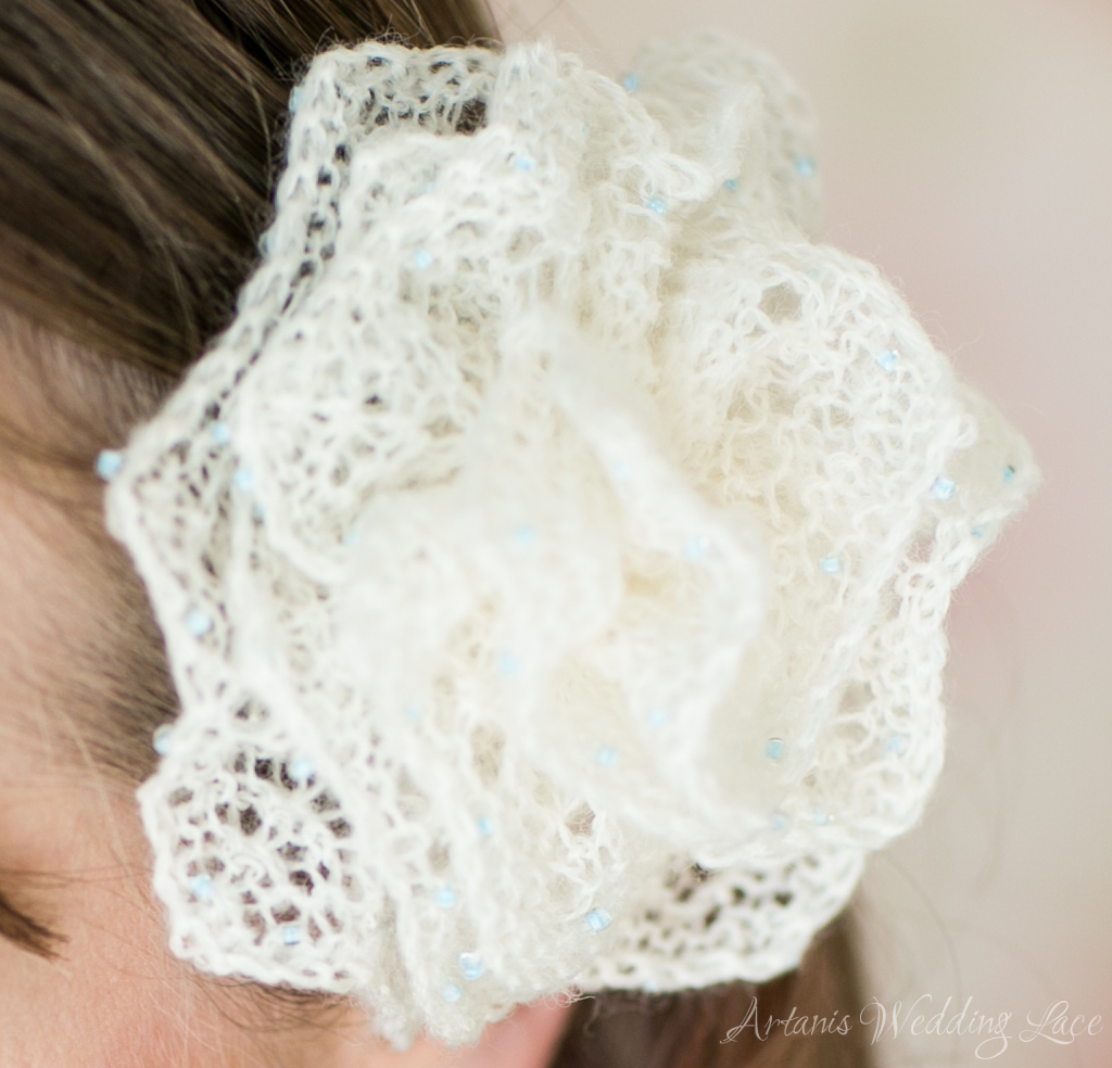 Bridal accessory - Hair flower1.4 - Artanis Wedding Lace