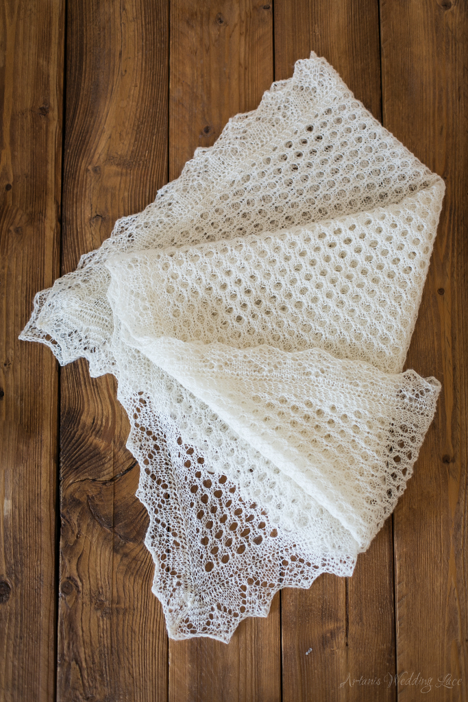 Elegant Wedding Wrap - Artanis Wedding Lace
