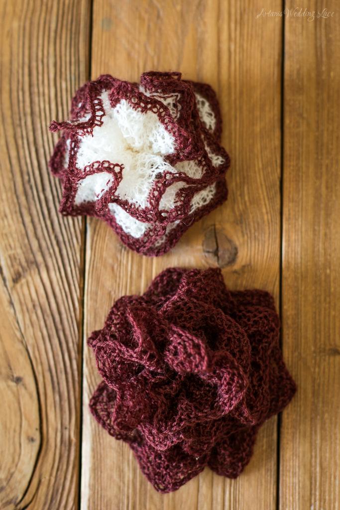 hair accessory - big red flower1.8- Artanis Wedding Lace