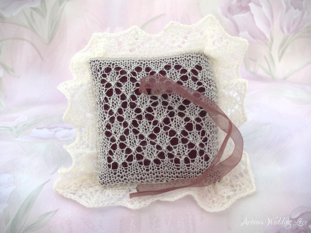 Knitting Pattern For Ring Bearer Pillow