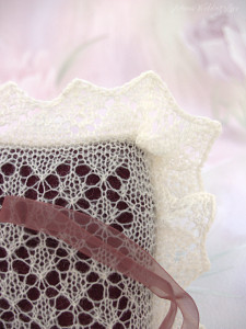 lace bridal ring bearer pillow natural white by Artanis Wedding Lace