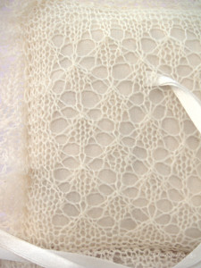 lace ring bearer pillow, natural white bridal ring pillow, wedding accessory by Artanis wedding Lace