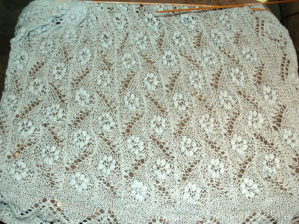 Flower field scarf
