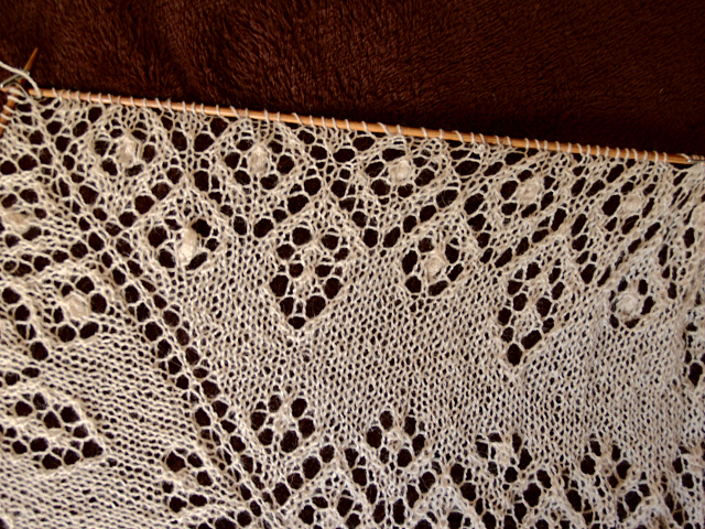 Lamana Piura baby alpaca lace scarf - Secret knitting vol3