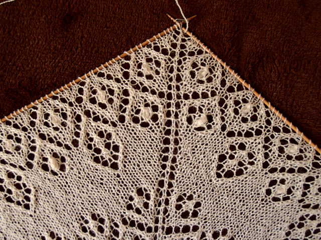 Secret knitting Lamana Piura baby alpaca lace scarf vol3