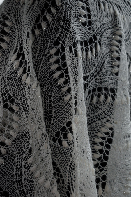 Beaded scarf - Artanis Wedding Lace_