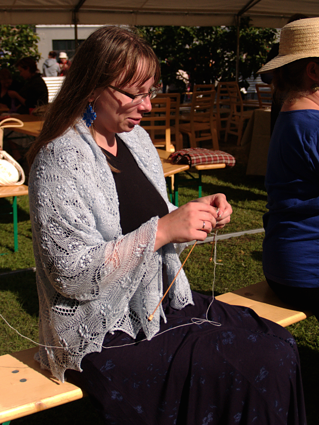 Lace Knitting Competition
