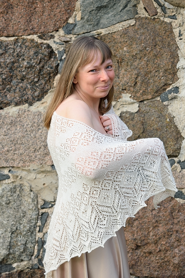 Lamana Piura Secret Knitting vol5 - Artanis Wedding Lace