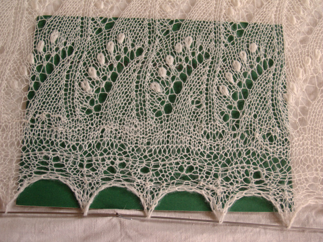 Repairing Lace Shawl